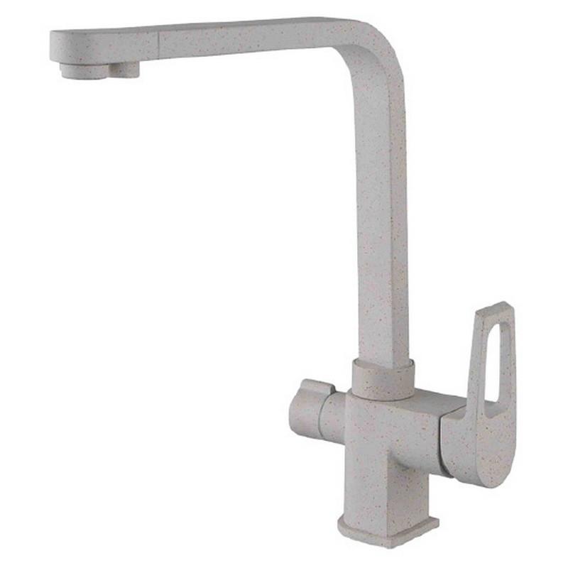 Смеситель для кухни ZorG Clean Water ZR 334 YF- ПЕСОЧНЫЙ Песочный смеситель для кухни zorg clean water zr 515 yf