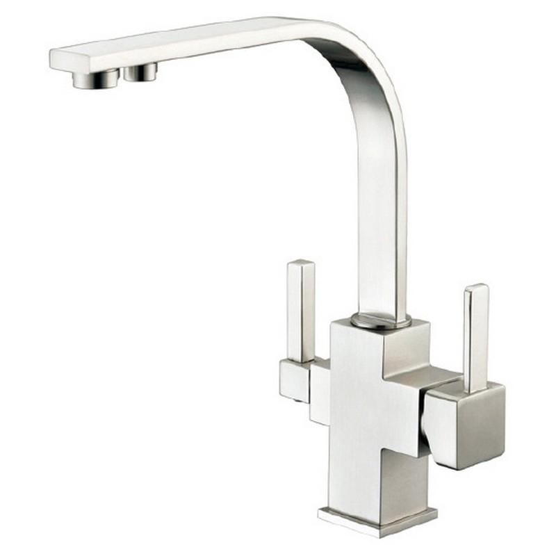 Смеситель для кухни ZorG Clean Water ZR 332 YF SATIN Сатин цена и фото