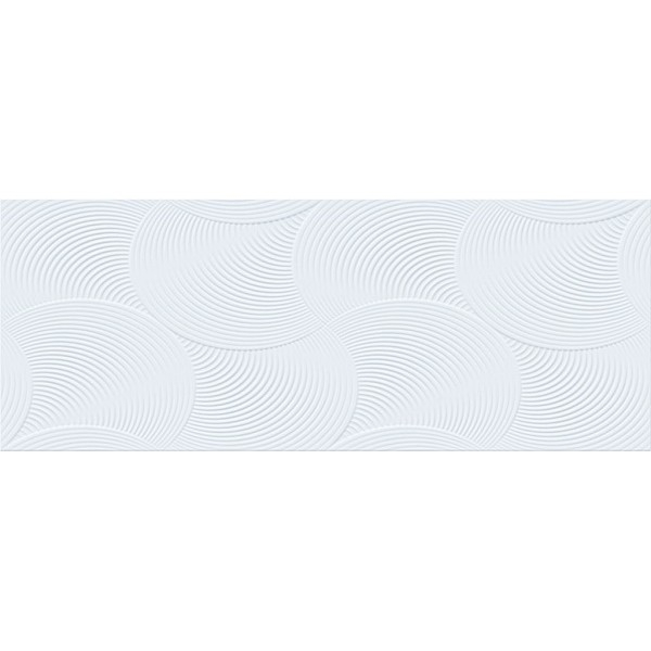 Керамическая плитка La Platera Saten Blanco Twis настенная 35х90 см