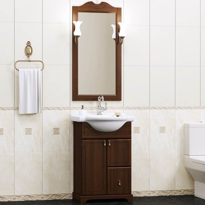 Комплект мебели для ванной Opadiris Клио 50 - фото