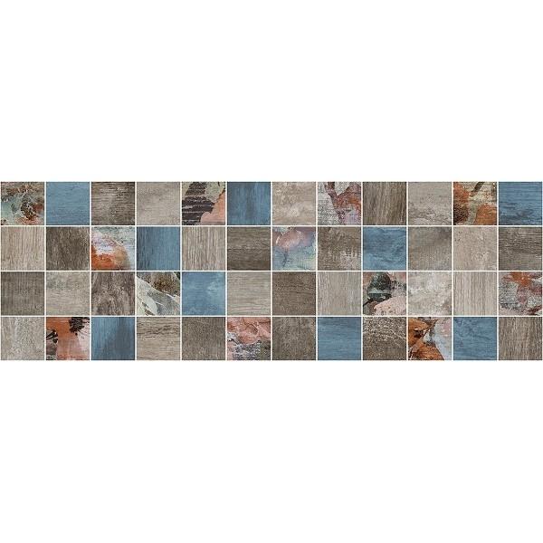цена Керамический декор Laparet Country мозаичный тёмный MM11191 20х60 см онлайн в 2017 году