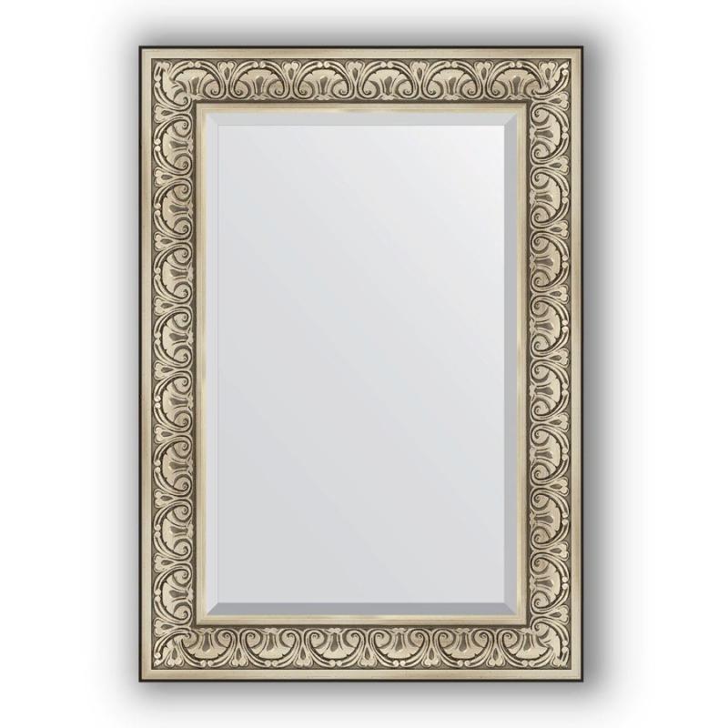 цена на Зеркало Evoform Exclusive 100х70 Виньетка античная бронза