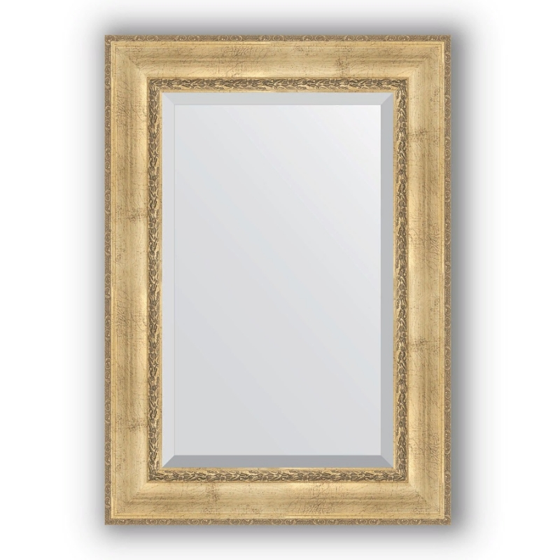 Зеркало Evoform Exclusive 120х72 Состаренное серебро с орнаментом