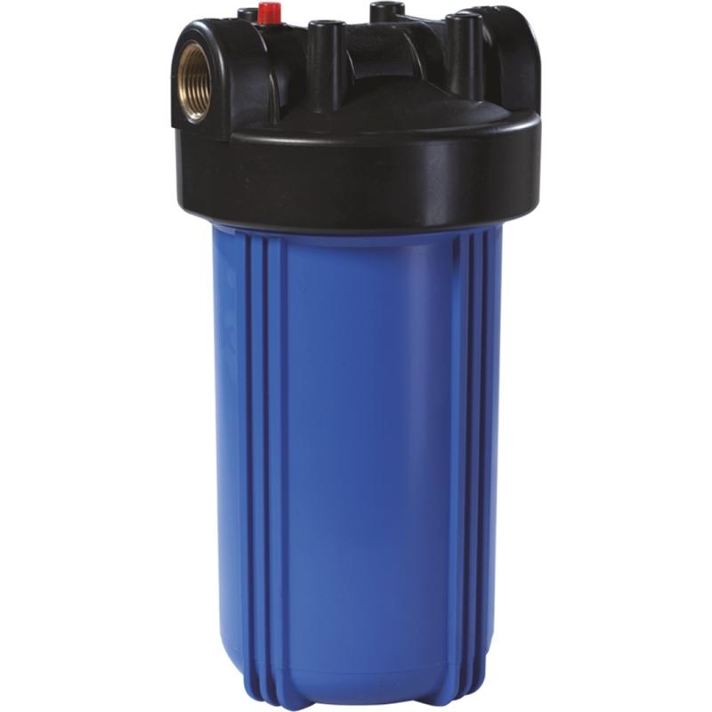 Корпус магистрального фильтра Unicorn Big Blue FH 10 BB для холодной воды Синий непрозрачный колба магистрального фильтра kristalfilter eco slim 10 t 1 2