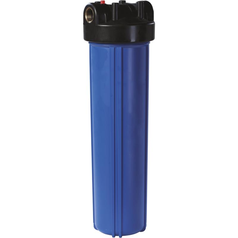 Корпус магистрального фильтра Unicorn Big Blue FH 20 BB для холодной воды Синий непрозрачный колба магистрального фильтра kristalfilter eco slim 10 nt 3 4