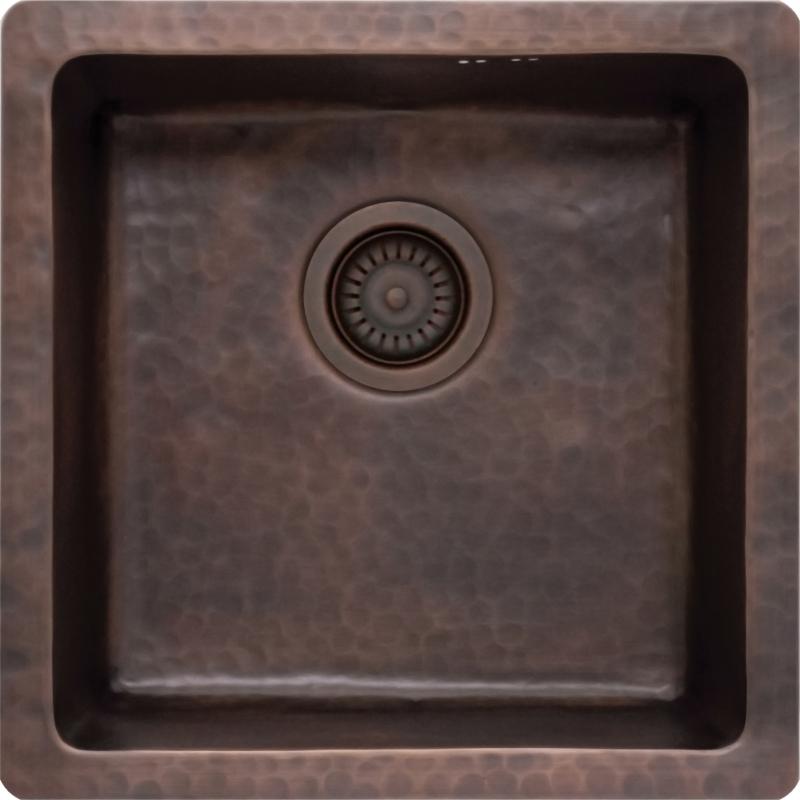 Кухонная мойка Seaman Natural Genova SMC-4646E-Antique.A Темная медь цена
