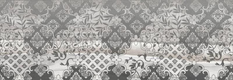 Керамический декор Laparet Grace Fancy серый 20х60 см керамический декор laparet agat geo серый 20х60 см
