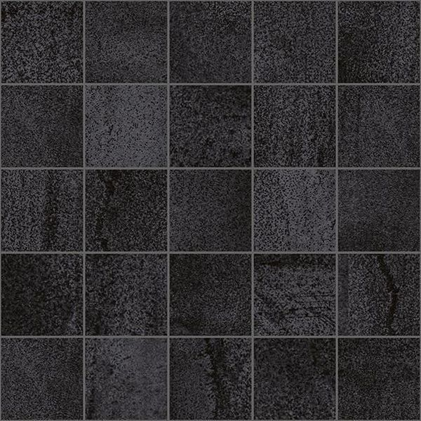 Керамический декор Laparet Metallica мозаичный чёрный MM34034 25х25 см керамический декор alaplana kingstone biege стена 9 видов 25х25 см