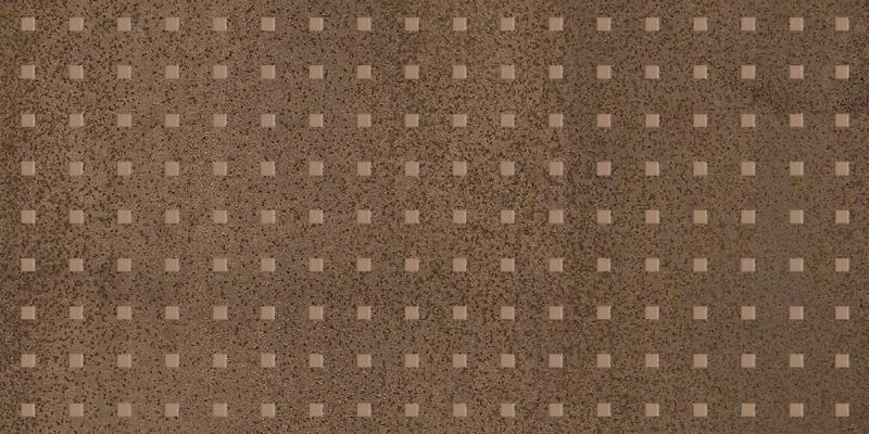Фото - Керамический декор Laparet Metallica Pixel коричневый 25х50 см керамический декор laparet agat geo декор светлый 20x60см