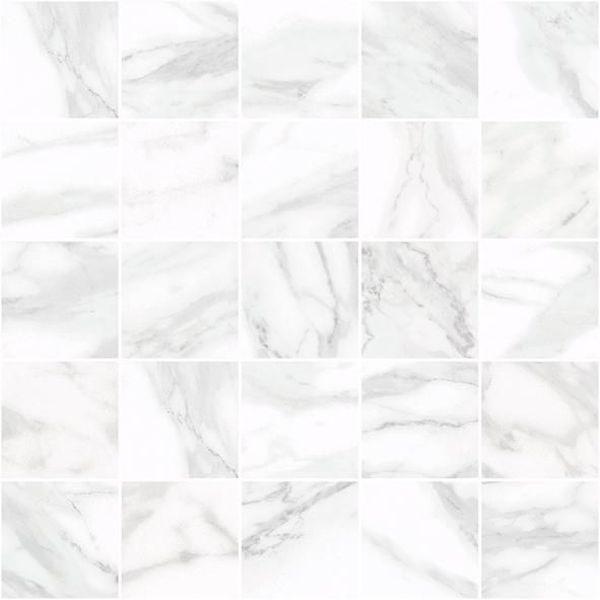 Керамический декор Laparet Olimpus мозаичный белый MM34037 25х25 см керамический декор alaplana kingstone biege стена 9 видов 25х25 см