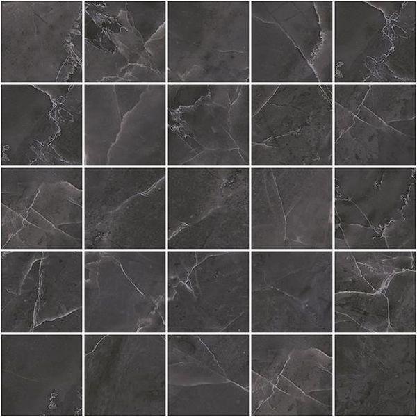 Керамический декор Laparet Olimpus мозаичный чёрный MM34038 25х25 см керамический декор alaplana kingstone biege стена 9 видов 25х25 см
