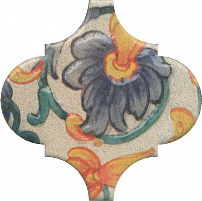 цена Керамический декор Kerama Marazzi Арабески Котто Орнамент OP/A162/65000 6,5х6,5 см онлайн в 2017 году