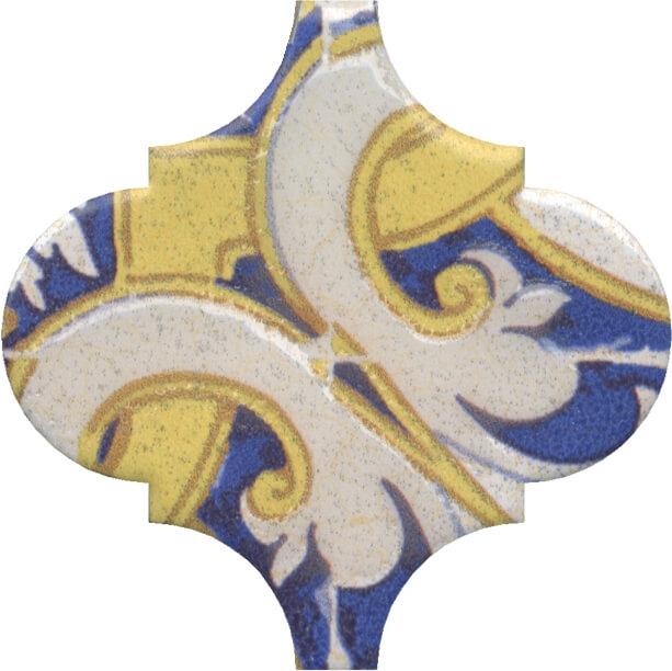 Керамический декор Kerama Marazzi Арабески Майолика орнамент OP/A160/65000 6,5х6,5 см керамический декор kerama marazzi арабески майолика гауди op a172 65000 6 5х6 5 см