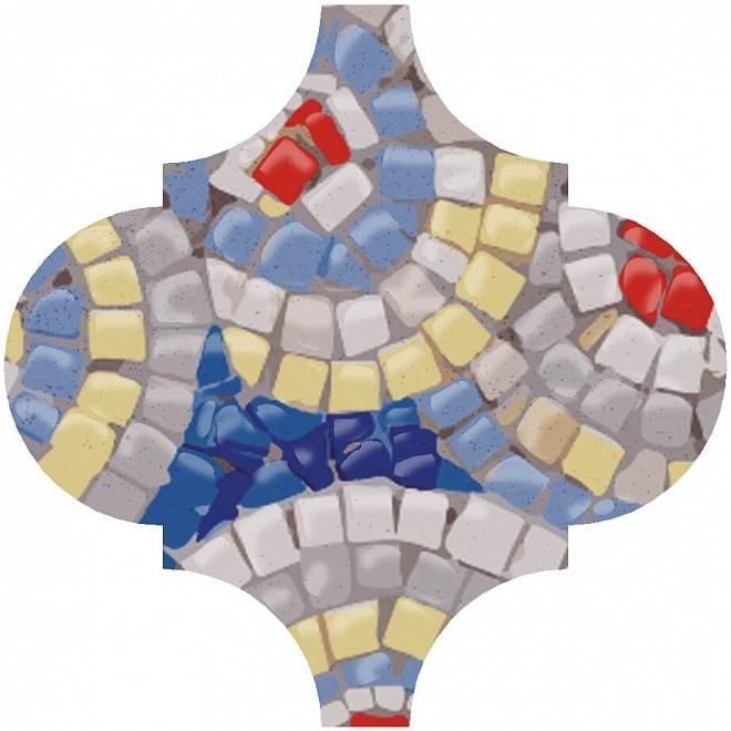 Керамический декор Kerama Marazzi Арабески Майолика Гауди OP/A172/65000 6,5х6,5 см дверь гауди м352
