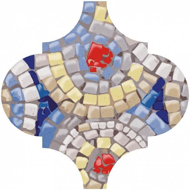 Керамический декор Kerama Marazzi Арабески Майолика Гауди OP/A171/65000 6,5х6,5 см керамический декор kerama marazzi арабески майолика гауди op a172 65000 6 5х6 5 см