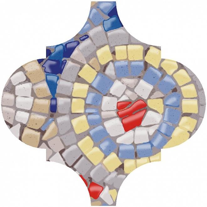 Керамический декор Kerama Marazzi Арабески Майолика Гауди OP/A170/65000 6,5х6,5 см дверь гауди м352