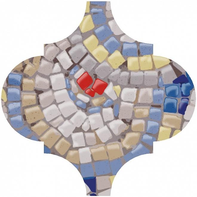 Керамический декор Kerama Marazzi Арабески Майолика Гауди OP/A169/65000 6,5х6,5 см керамический декор kerama marazzi арабески майолика гауди op a172 65000 6 5х6 5 см