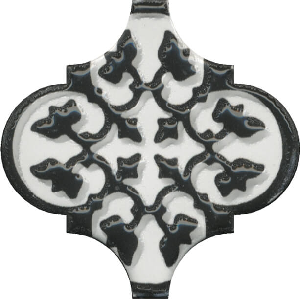 цена Керамический декор Kerama Marazzi Арабески глянцевый орнамент OS/A26/65000 6,5х6,5 см онлайн в 2017 году