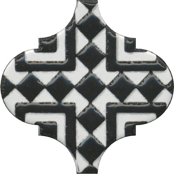 цена Керамический декор Kerama Marazzi Арабески глянцевый орнамент OS/A25/65000 6,5х6,5 см онлайн в 2017 году