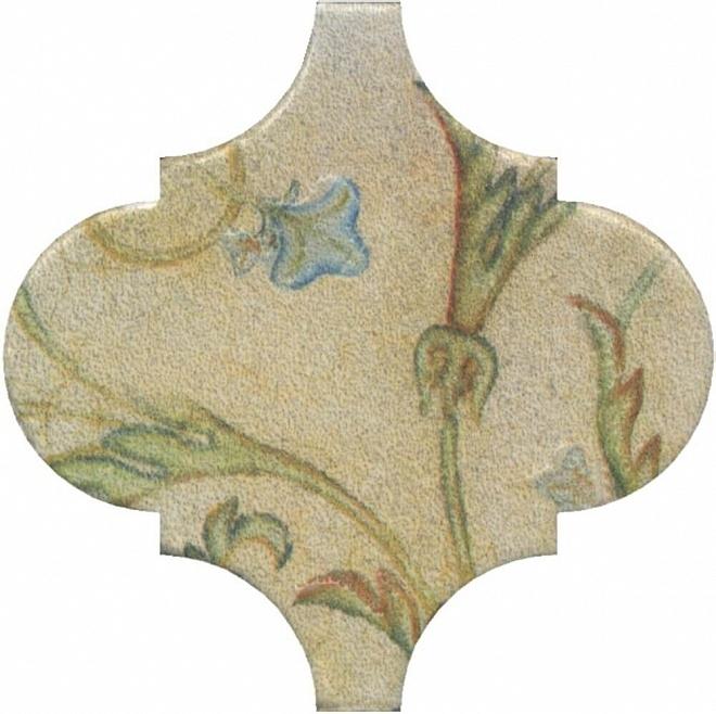 цена Керамический декор Kerama Marazzi Арабески Котто Орнамент OP/A167/65000 6,5х6,5 см онлайн в 2017 году