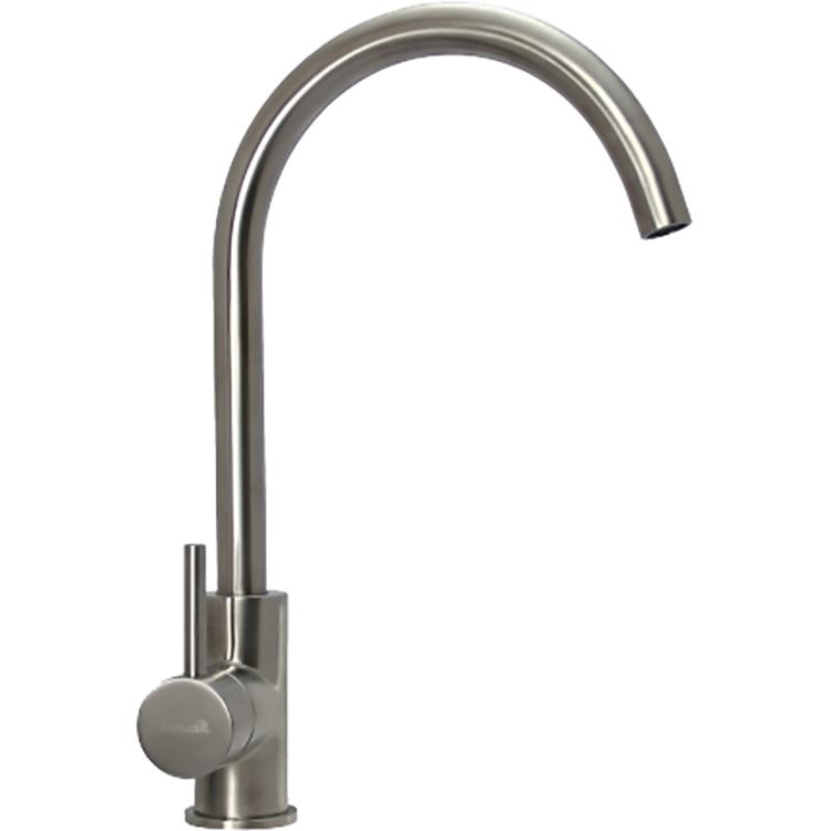 Смеситель для кухни Seaman Eco Glasgow SSN-3025 Сталь кран для питьевой воды seaman eco glasgow mono для фильтра ssn 3015