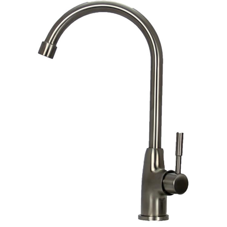 Смеситель для кухни Seaman Eco Glasgow SSN-3015 Сталь кран для питьевой воды seaman eco glasgow mono для фильтра ssn 3015