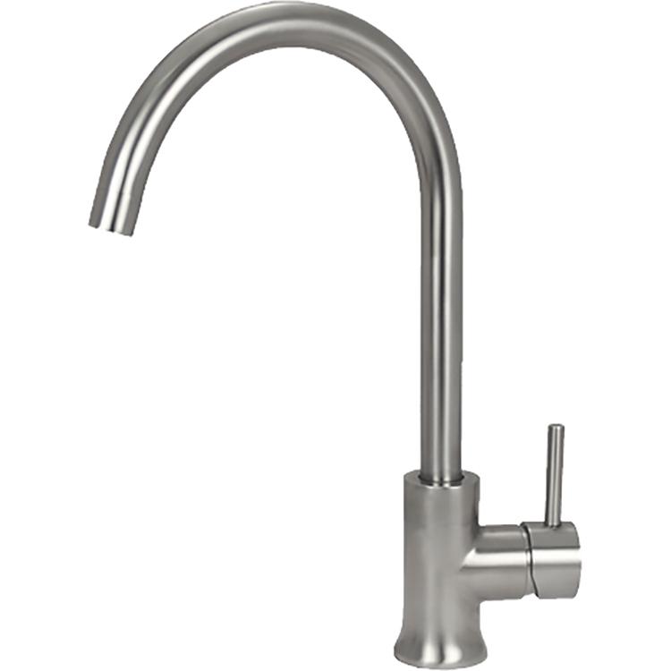 Смеситель для кухни Seaman Eco Glasgow SSN-3004A Сталь кран для питьевой воды seaman eco glasgow mono для фильтра ssn 3015