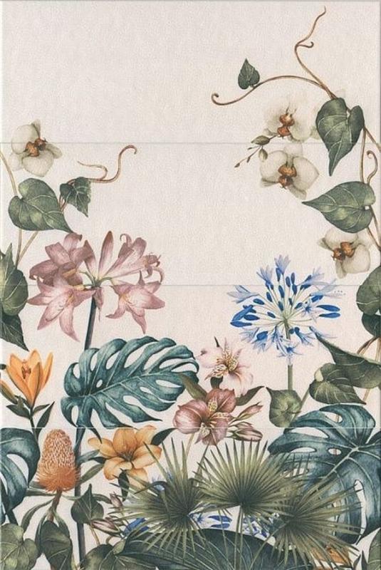 Керамическое панно Kerama Marazzi Зимний сад 40х60 см поднос зимний сад orval поднос зимний сад