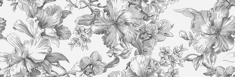 Керамический декор Kerama Marazzi Монфорте Цветы обрезной 14018R/3F 40х120 см стоимость
