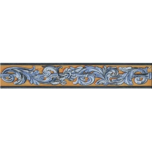 Керамический бордюр Kerama Marazzi Площадь Испании HGD/B349/15050T 7,2х40 см стоимость