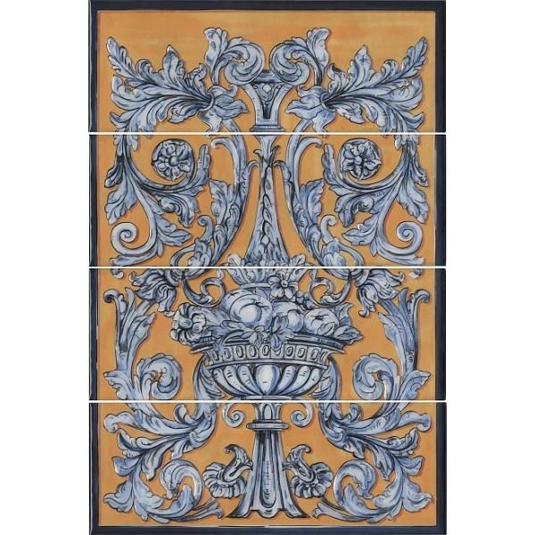 Керамическое панно Kerama Marazzi Площадь Испании HGD/B347/4х15129 40х60 см стоимость