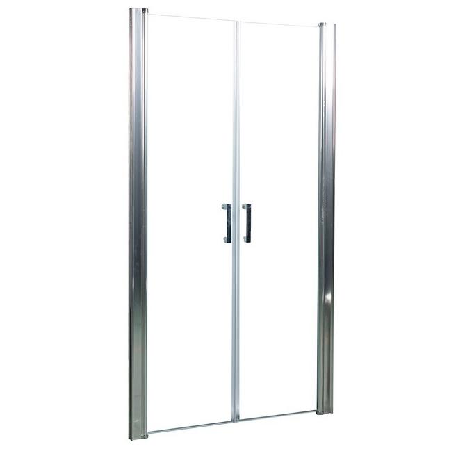 Душевая дверь в нишу River Suez 80 МТ 10000000740 профиль Матовый хром стекло матовое