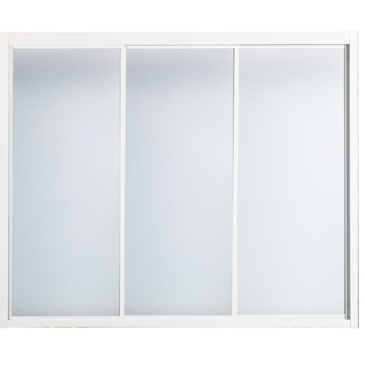 Душевая дверь в нишу River La Manche 110 МТ профиль Белый стекло матовое душевая дверь river la manche la manche 110 mt