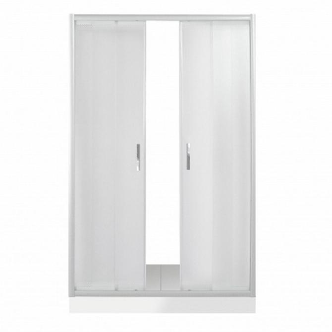 Душевая дверь в нишу River Dreike 150 МТ 10000002357 профиль Матовый хром стекло матовое недорого