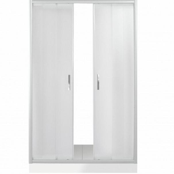 Душевая дверь в нишу River Dreike 120 МТ 10000001378 профиль Матовый хром стекло матовое недорого