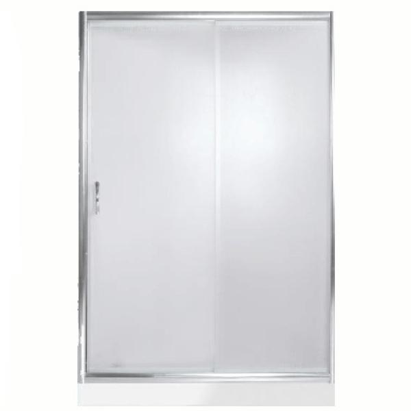 Душевая дверь в нишу River Bering 140 МТ профиль Матовый хром стекло матовое
