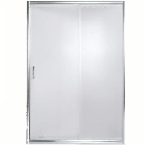 Душевая дверь в нишу River Bering 130 МТ профиль Матовый хром стекло матовое