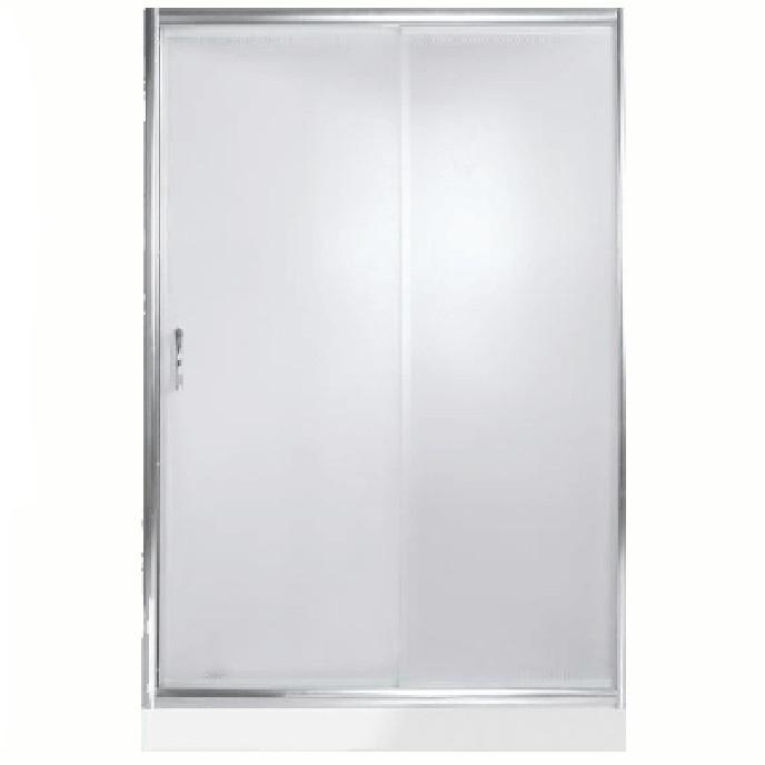 Душевая дверь в нишу River Bering 120 МТ профиль Матовый хром стекло матовое