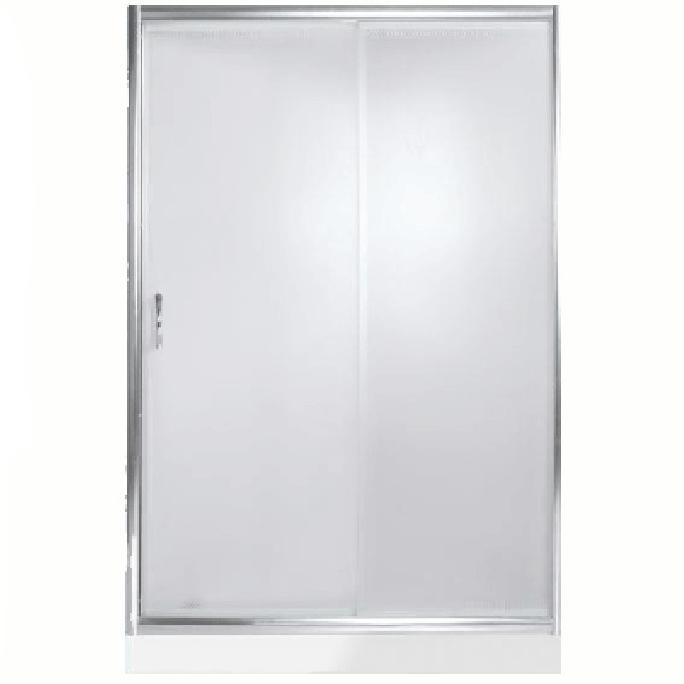 Душевая дверь в нишу River Bering 110 МТ профиль Матовый хром стекло матовое