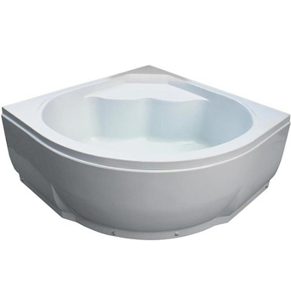 Акриловая ванна River 135x135 Белая