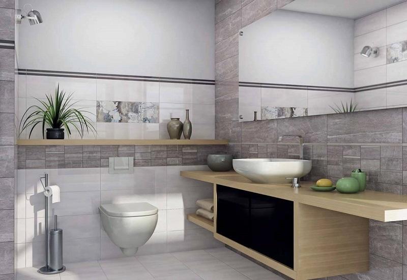 цена Керамическая плитка Ceramika Konskie Slate Slate Flower 1 20x60см декор