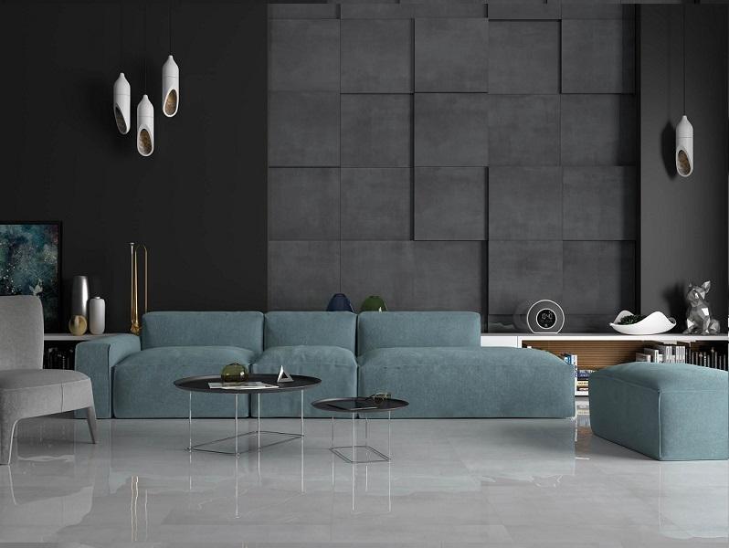 Керамическая плитка Ceramika Konskie Shadow Shadow Antracite 59х59см керамогранит