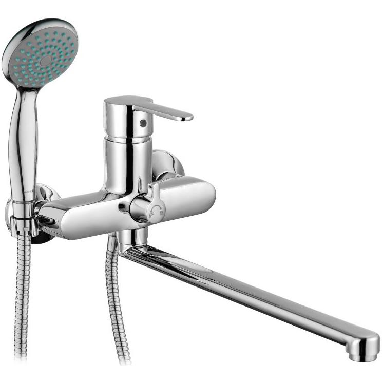 Смеситель для ванны Gross Aqua Moderna 7213278С-35L(F) универсальный Хром gross aqua forma 7019084с 35l f