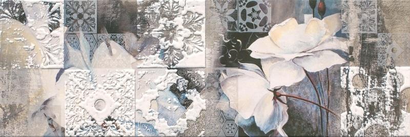 Керамический декор Ceramika Konskie Slate 40417 Flower 2 20x60см стоимость