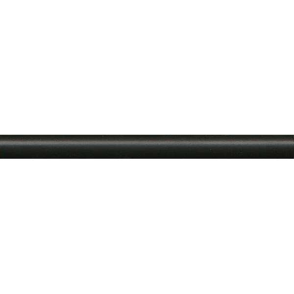Керамический карандаш Kerama Marazzi Диагональ черный обрезной 2х25 см