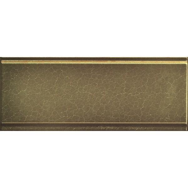 купить Керамический бордюр Kerama Marazzi Гинардо металл обрезной BDA015R 12х30 см по цене 351 рублей