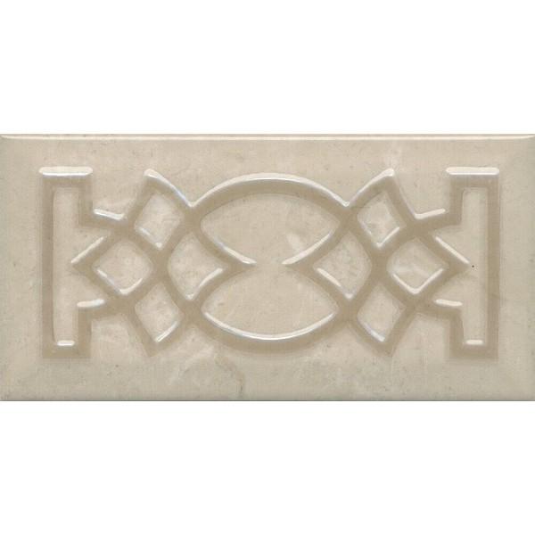 цена Керамический декор Kerama Marazzi Эль-Реаль AD/A490/19052 9,9х20 см онлайн в 2017 году