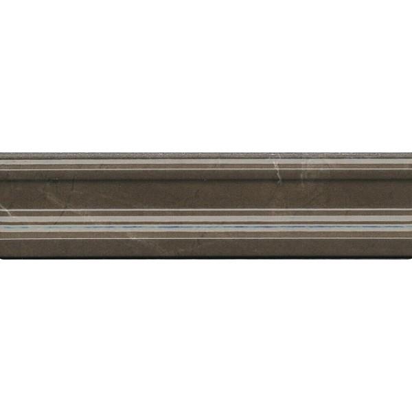 цена Керамический бордюр Kerama Marazzi Эль-Реаль Багет коричневый BLB037 5х20 см онлайн в 2017 году