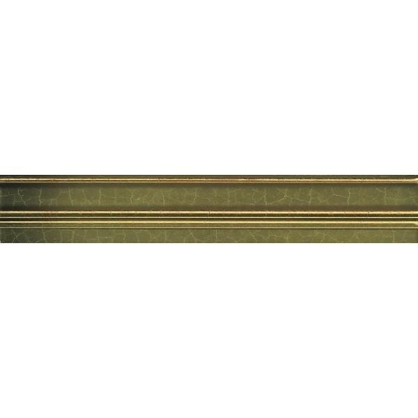 купить Керамический бордюр Kerama Marazzi Гинардо Багет металл обрезной BLC009R 5х30 см по цене 365 рублей