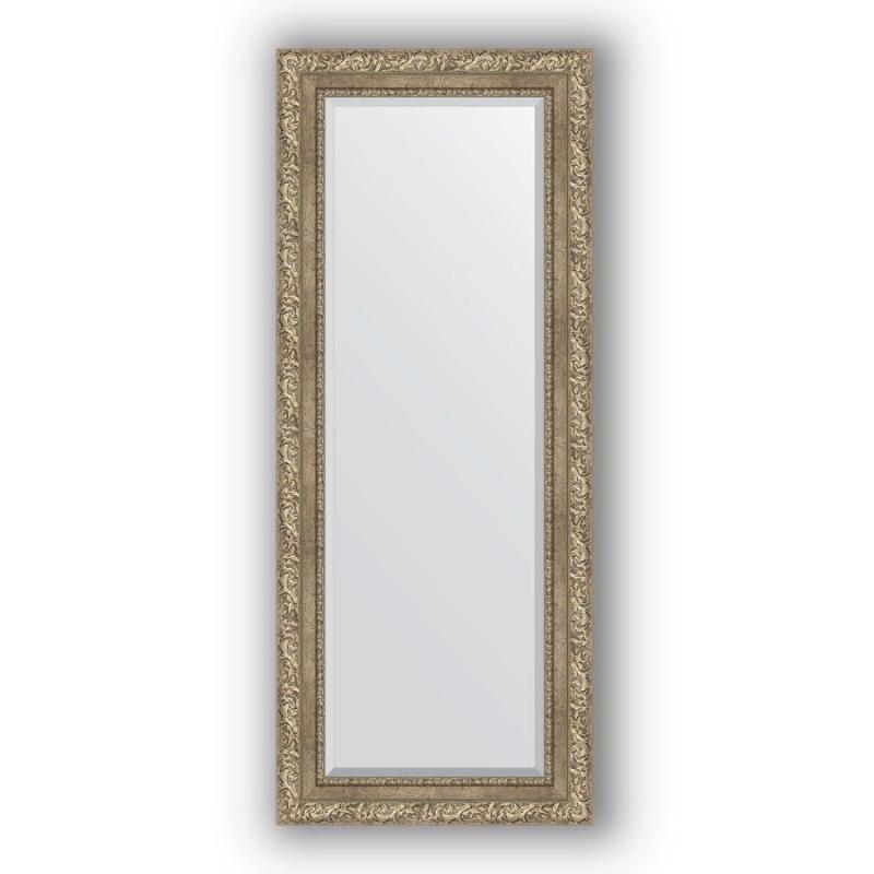 Зеркало Evoform Exclusive 135х55 Виньетка античная бронза зеркало evoform exclusive g 185х130 виньетка античная латунь
